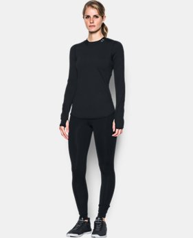 Women's ColdGear® Armour Fitted Mock Neck  3 Colors $59.99