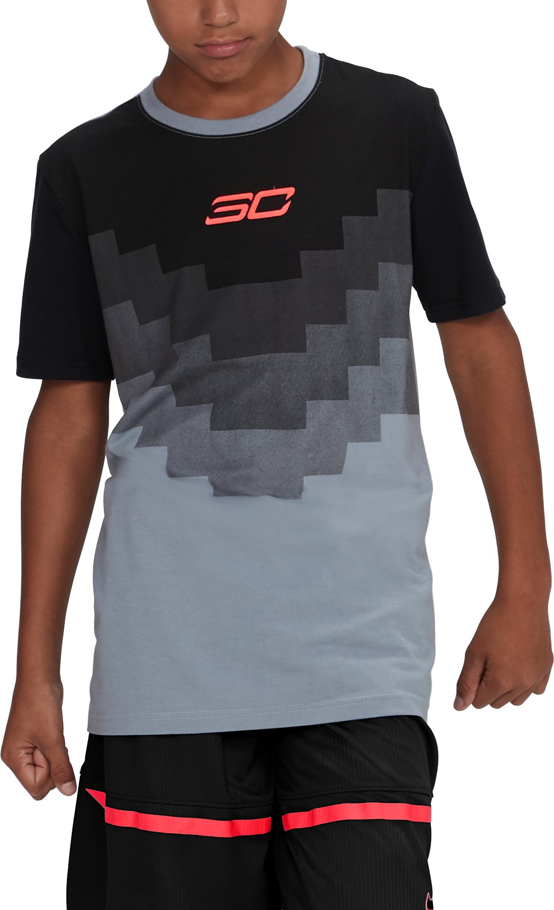 Boys' SC30 Warrior Spirit T-Shirt, Steel,