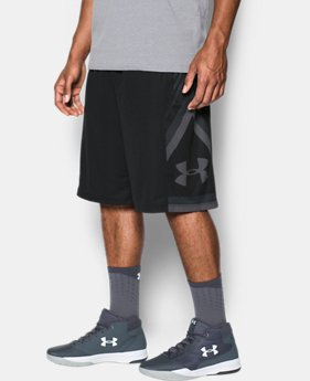 Best Seller Men's UA Space the Floor Shorts  3 Colors $34.99
