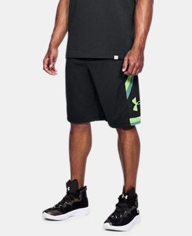 Best Seller Men's UA Space the Floor Shorts LIMITED TIME: FREE U.S. SHIPPING 4 Colors $34.99