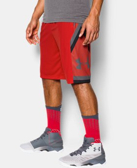 Best Seller Men's UA Space the Floor Shorts  4  Colors $34.99