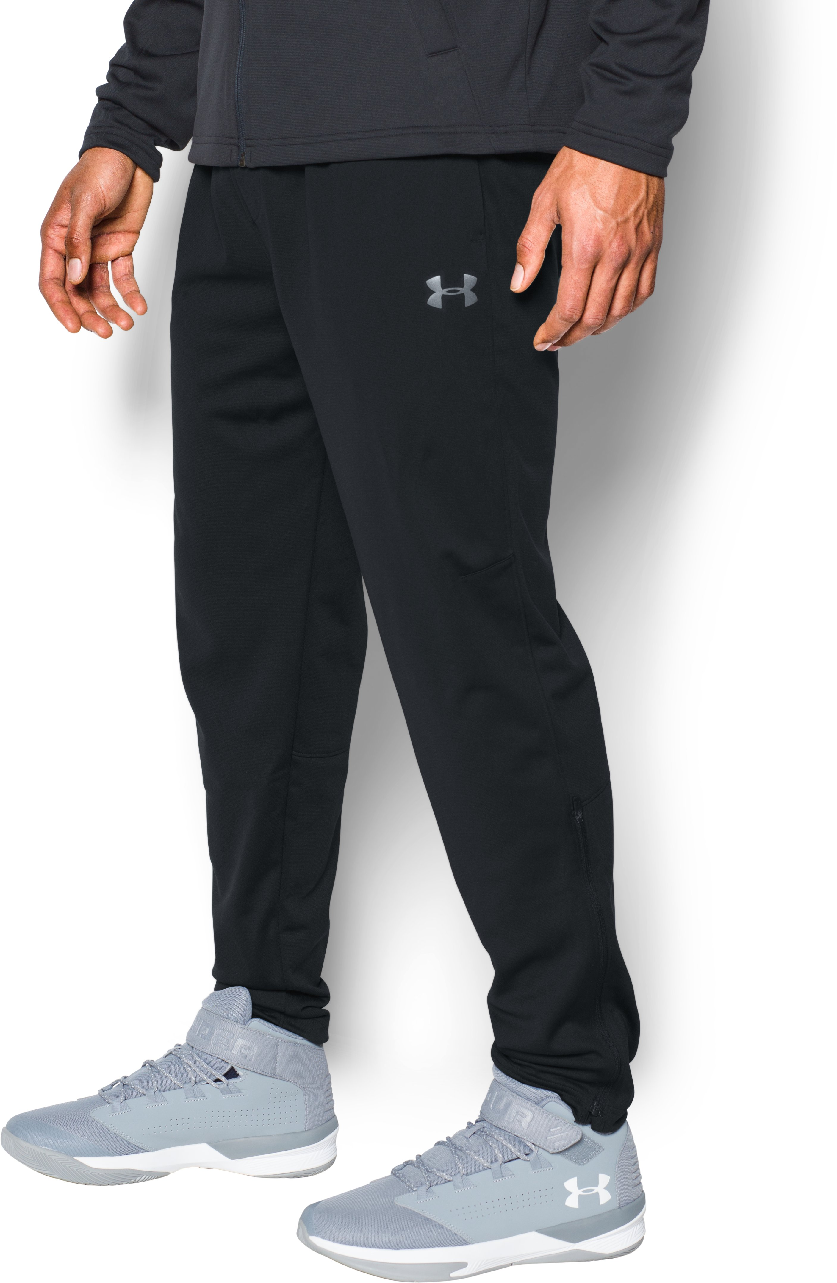 Men's UA Baseline Performance Pants, Black ,