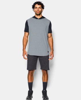 Men's UA Baseline T-Shirt Hooded T-Shirt  3 Colors $37.99
