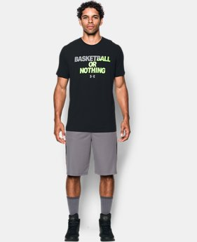 Men's UA BBall Or Nothing T-Shirt  1 Color $14.99 to $18.99