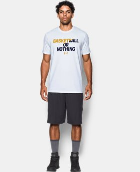 New Arrival Men's UA BBall Or Nothing T-Shirt  1 Color $24.99