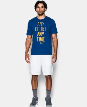 Men's UA Any Court Any Time T-Shirt  2 Colors $24.99