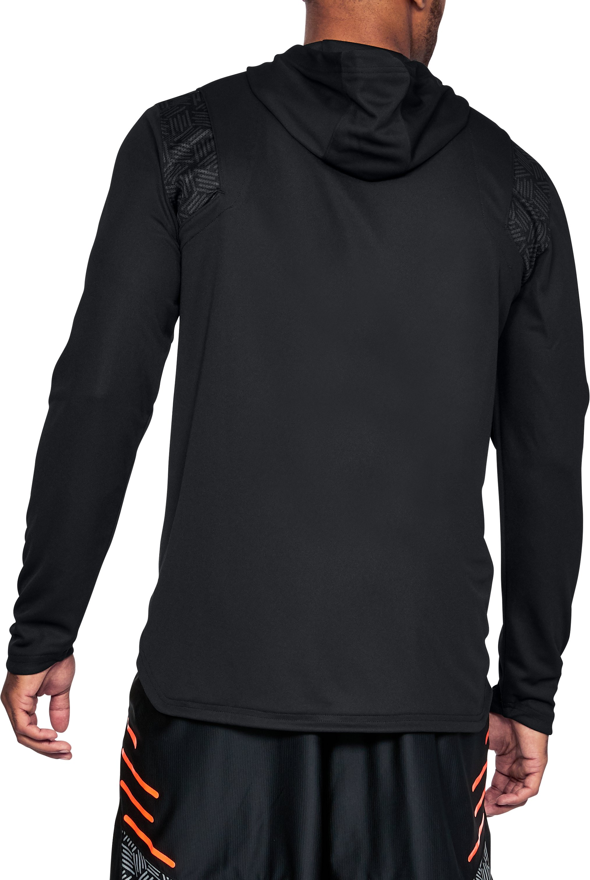 Men's UA Team Hoodie, Black , undefined