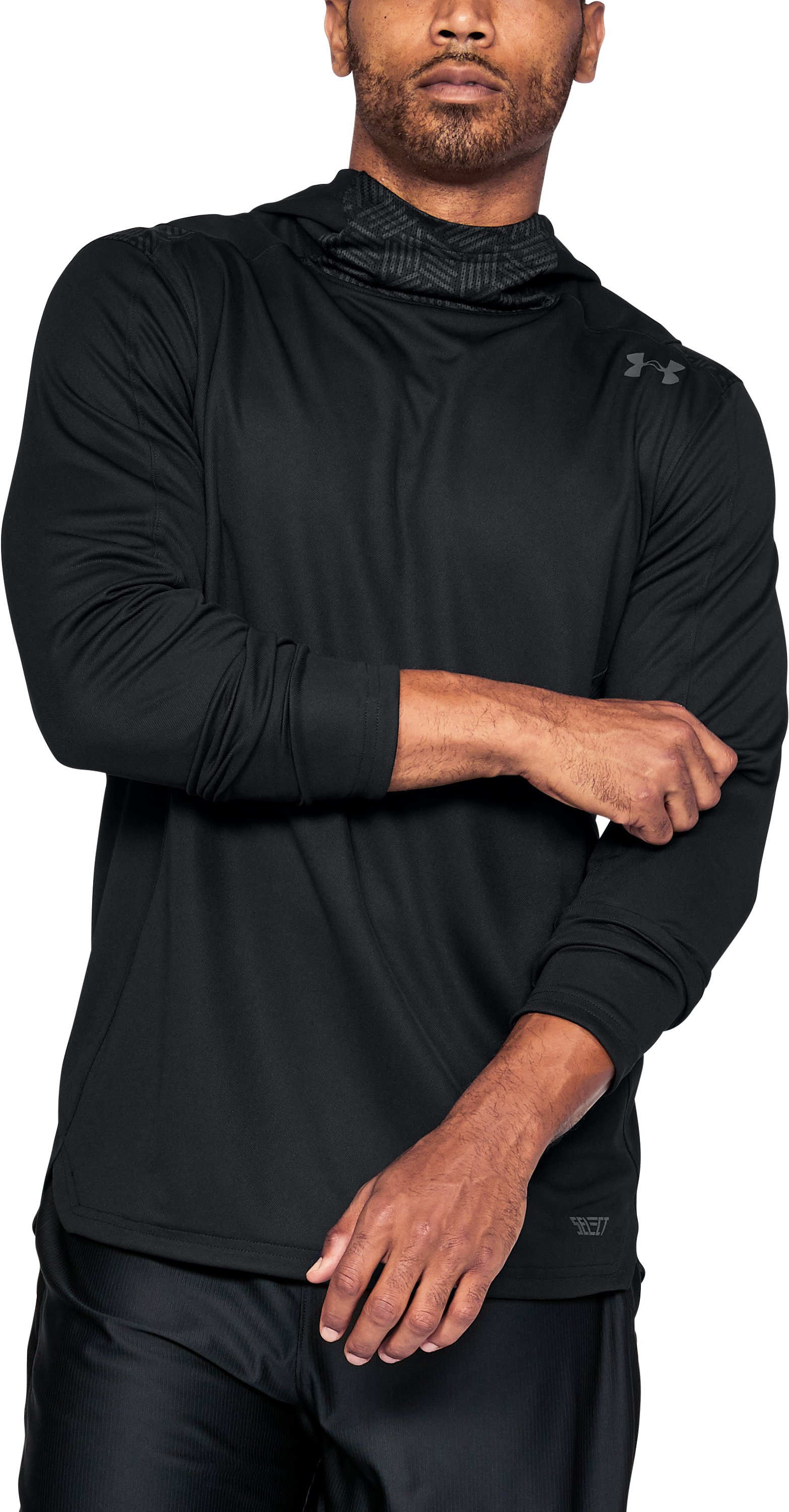 Men's UA Team Hoodie, Black