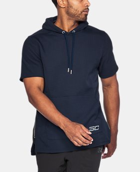 New Arrival  Men's SC30 Curry Life Short Sleeve Hoodie  1 Color $74.99