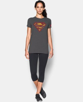 Women's Under Armour® Alter Ego Retro Superman Graphic T-Shirt LIMITED TIME: FREE SHIPPING 1 Color $34.99