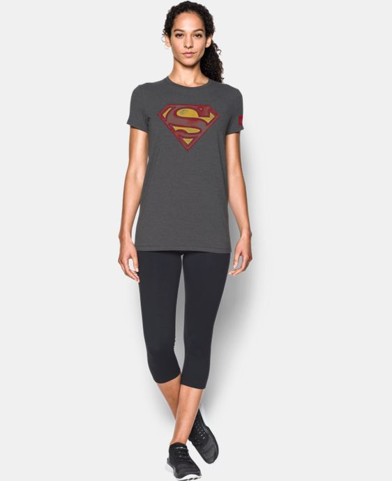 Women's Under Armour® Alter Ego Retro Superman Graphic T-Shirt  1 Color $34.99