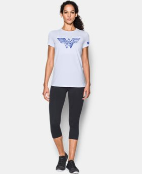 Women's Under Armour® Alter Ego Retro Wonder Woman Warrior Princess Graphic T-Shirt