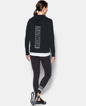 Women's UA Favorite Fleece Full Zip Hoodie LIMITED TIME OFFER 1 Color $49.99