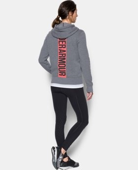 Women's UA Favorite Fleece Full Zip Hoodie  1 Color $44.99 to $56.24