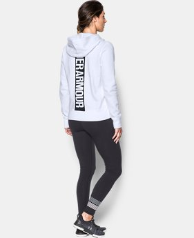 Women's UA Favorite Fleece Full Zip Hoodie  1  Color Available $35.99 to $41.99