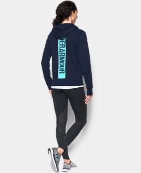 Women's UA Favorite Fleece Full Zip Hoodie  1 Color $56.24