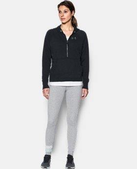 Women's UA Favorite Fleece ½ Zip Hoodie  1 Color $69.99
