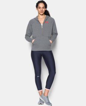 Women's UA Favorite Fleece ½ Zip Hoodie  2 Colors $59.99