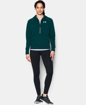 Women's UA Favorite Fleece ½ Zip Hoodie  1 Color $44.99