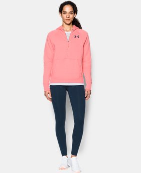 Women's UA Favorite Fleece ½ Zip Hoodie  1 Color $44.99 to $59.99