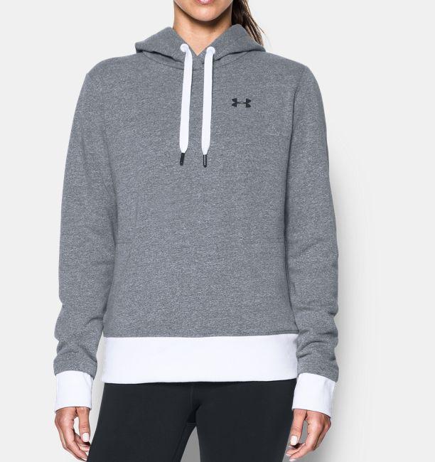 Womens ua threadborne fleece hoodie under armour us womens ua threadborne fleece hoodie stealth gray gumiabroncs Images