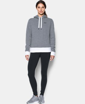 New to Outlet Women's UA Threadborne™ Fleece Hoodie LIMITED TIME OFFER 2 Colors $41.99