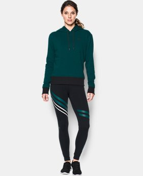 Women's UA Threadborne™ Fleece Hoodie LIMITED TIME OFFER 1 Color $52.49