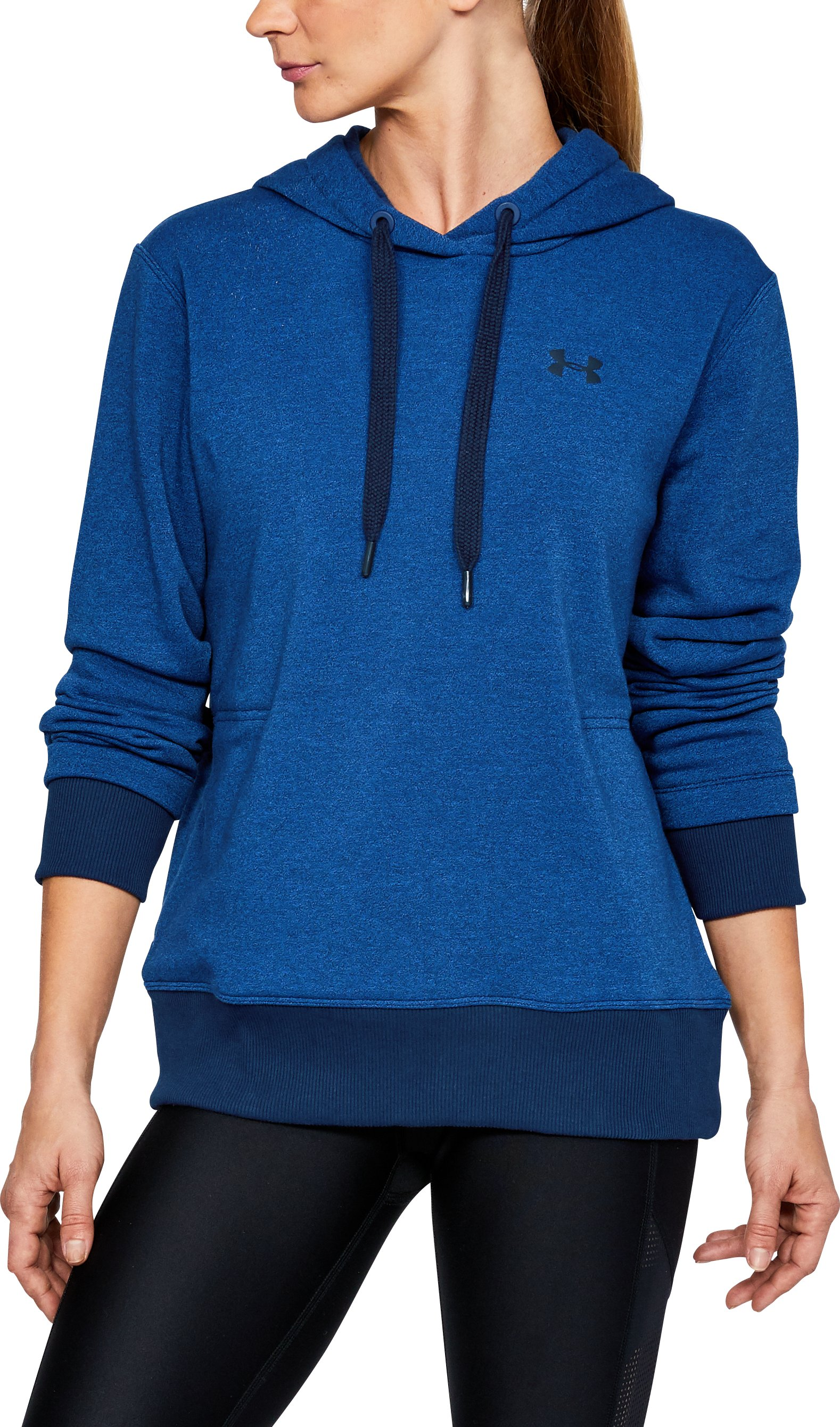Women's UA Threadborne™ Fleece Hoodie, LAPIS BLUE