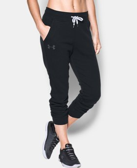 Women's UA Favorite Fleece Pant  3  Colors Available $29.99 to $37.49
