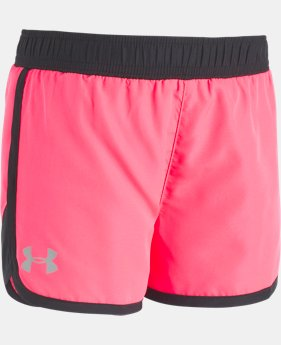 Girls' Toddler UA Fast Lane Shorts  1 Color $20