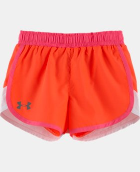 Girls' Pre-School  UA Fast Lane Shorts  2 Colors $14.99