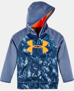 New Arrival Boys' Toddler UA Atlas Big Logo Hoodie   $42.99
