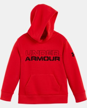 New Arrival Boys' Pre-School UA Titan Level Hoodie  1 Color $37.99