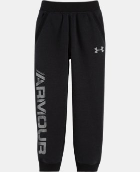 Boys' Infant UA Titan Fleece Joggers LIMITED TIME OFFER + FREE U.S. SHIPPING  $18.99