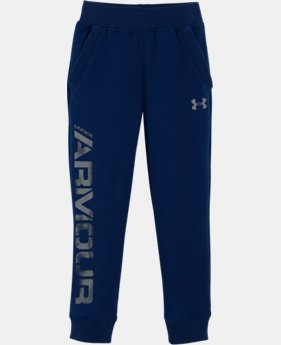 Boys' Infant UA Titan Fleece Joggers LIMITED TIME OFFER + FREE U.S. SHIPPING  $30.99