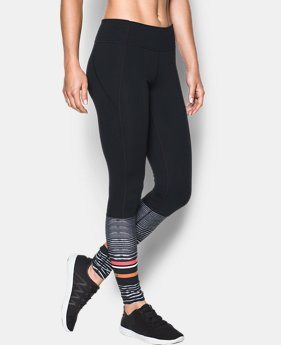 Women's UA Mirror Striped Leggings   $74.99