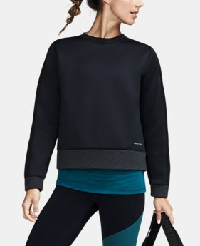 Women's UA Luster Long Sleeve Crew  1 Color $114.99