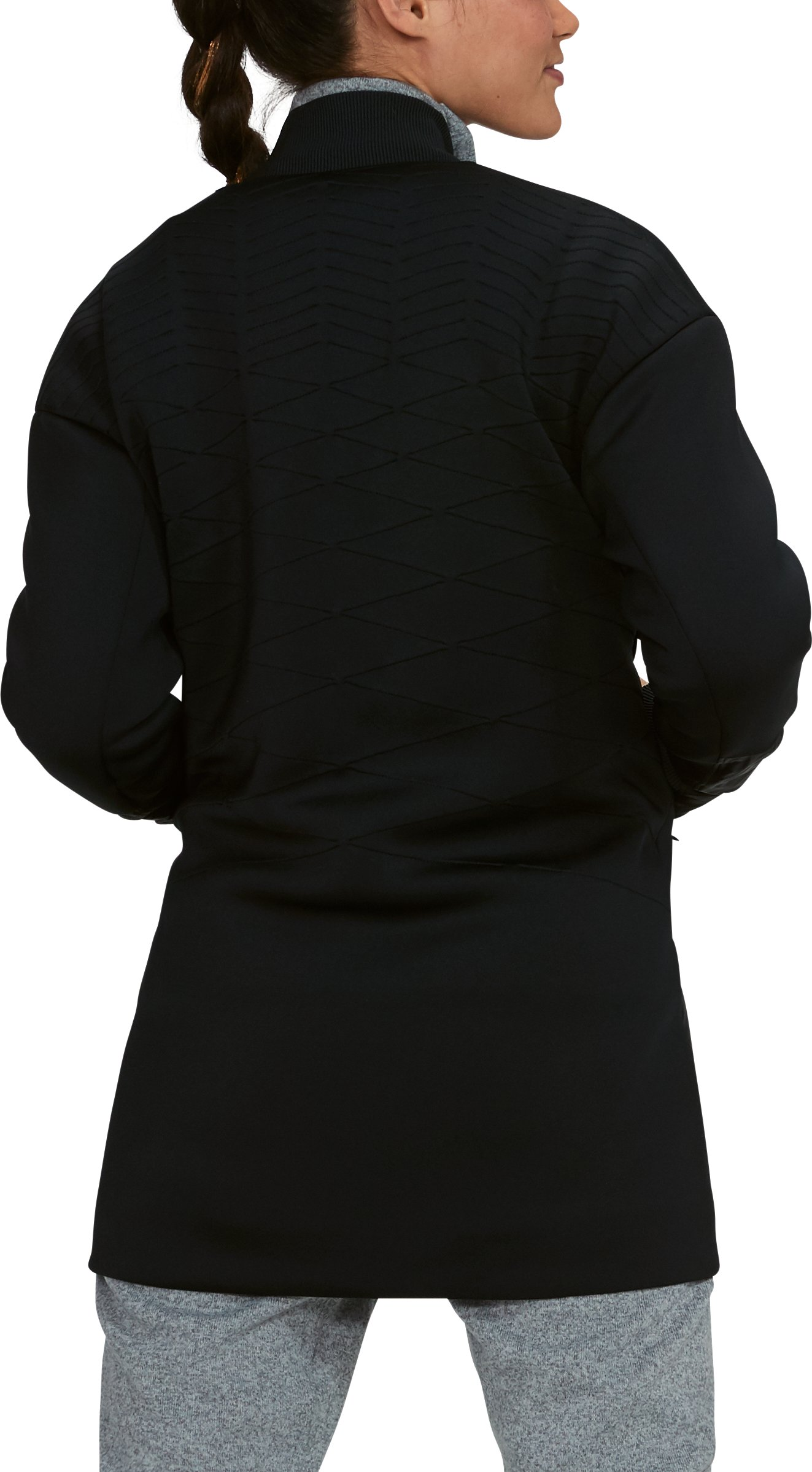 Women's UA Luster Jacket, Black