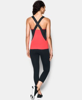 Women's UA Mirror Crossback Tank  1 Color $64.99