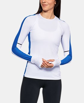 Women's UA Mirror Printed Long Sleeve Shirt  1  Color Available $52.99