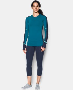 Women's UA Mirror Printed Long Sleeve Shirt  1 Color $59.99