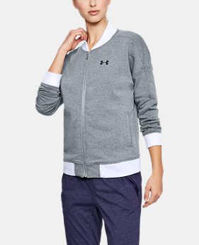 Women's UA Threadborne™ Fleece Bomber  2 Colors $79.99