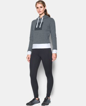 New Arrival  Women's UA Threadborne™ Fleece Graphic Hoodie  2 Colors $74.99