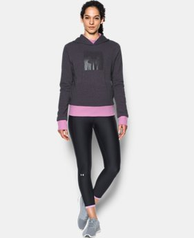 New Arrival Women's UA Threadborne™ Fleece Graphic Hoodie  1 Color $59.99