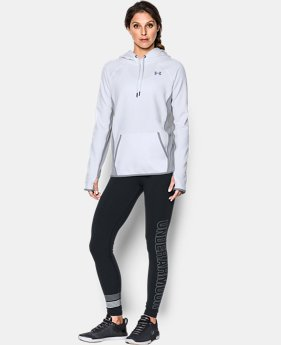 Women's UA Storm Armour® Fleece Icon Hoodie LIMITED TIME OFFER 6 Colors $47.26