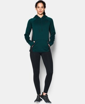 Women's UA Storm Armour® Fleece Icon Hoodie LIMITED TIME OFFER 1 Color $47.26