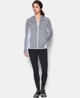 Women's UA Storm Armour® Fleece Full Zip Twist Hoodie LIMITED TIME OFFER 3 Colors $45.32