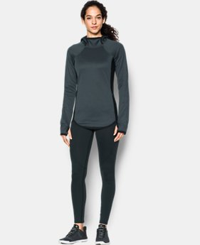 New Arrival  Women's UA ColdGear® Reactor Fleece Hoodie  2 Colors $99.99