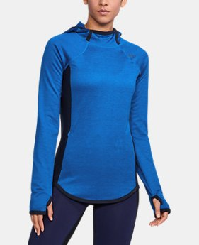 New Arrival  Women's UA ColdGear® Reactor Fleece Hoodie  1 Color $99.99