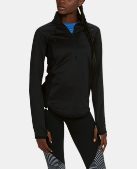 New to Outlet Women's UA ColdGear® Reactor Fleece ½ Zip  2  Colors Available $41.99